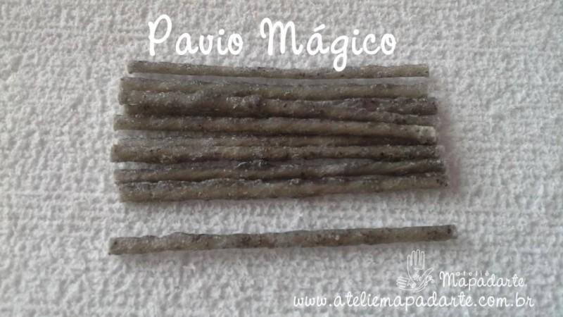 Foto 1 - Cód M1137 Pavio mágico 10 un