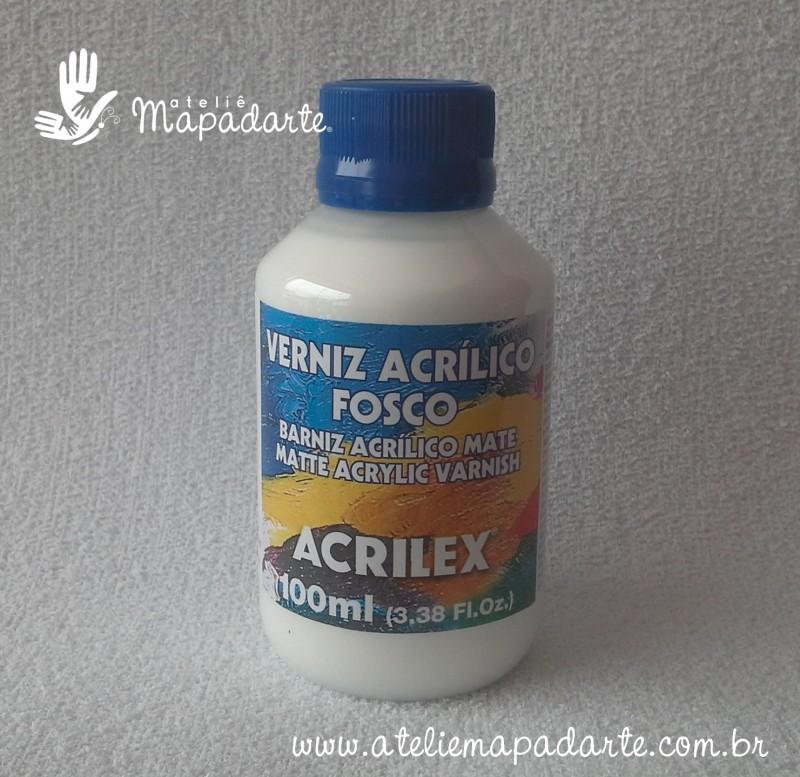 Foto 1 - Cód M1148 Verniz acrílico fosco 100 ml Acrilex