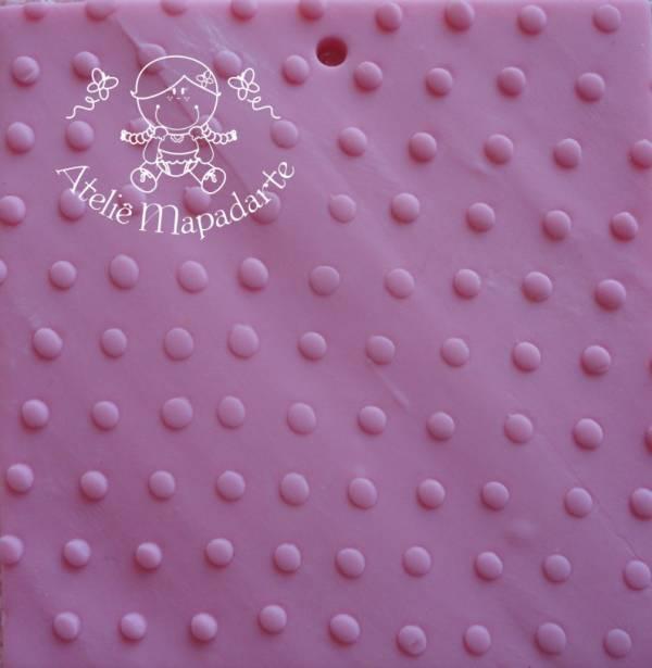 Foto 1 - Cód M116 Rolo de textura bolinha