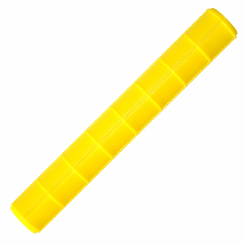 Foto 1 - Cód M1182 Rolo textura amarelo 15 cm 01 un (Blue Star)