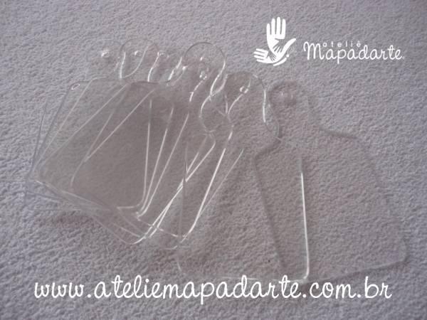 Foto2 - Cód M1187 Tábua de carne em plástico transparente com 10 un (G)