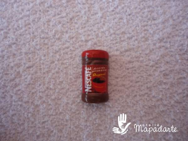 Foto2 - Cód M1192 Miniatura de nescafé pote c/ 10 un