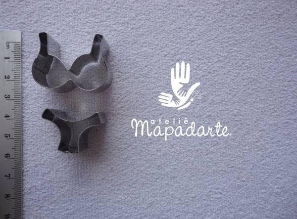 Foto 1 - Cód M1212 Cortador inox lingerie P (CR)