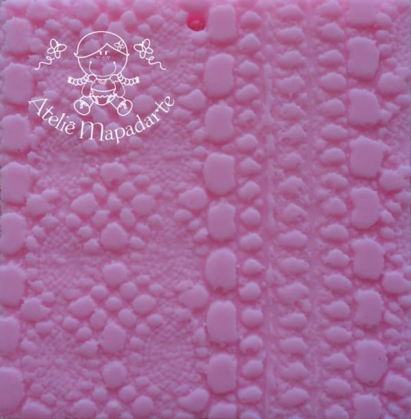 Foto 1 - Cód M123 Rolo de textura rendinha