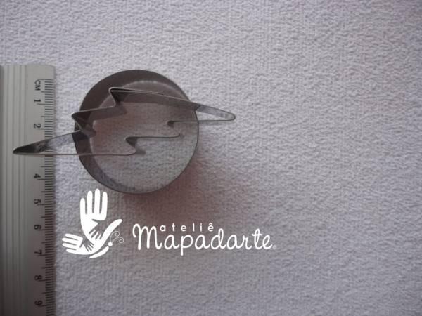 Foto 1 - Cód M1233 cortador inox flash (CR)