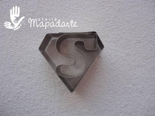 Foto 1 - Cód M1235 Cortador inox superman 01 un (CR)