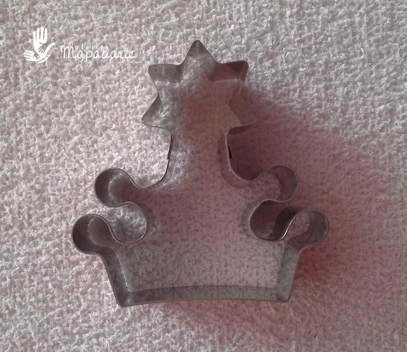 Foto 1 - Cód M1290 Cortador coroa estrela no topo P (1568)