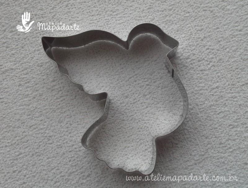 Foto 1 - Cód M1306 Cortador inox de pomba de lado (CR)