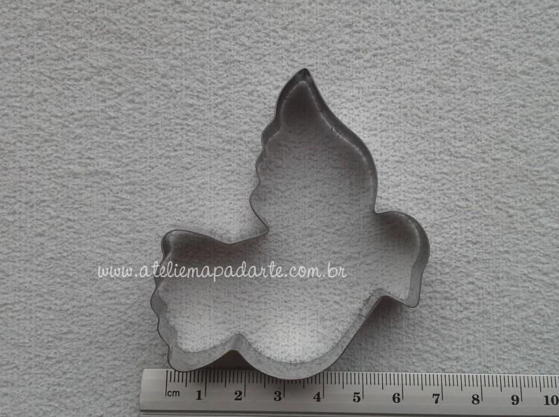 Foto2 - Cód M1306 Cortador inox de pomba de lado (CR)