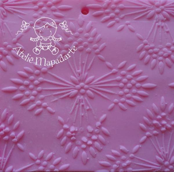 Foto 1 - Cód M132 Rolo de textura mandala