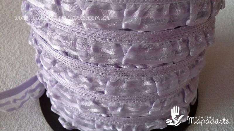 Foto2 - Cód M1330 Renda lilás com elástico e detalhe na borda 01 mt