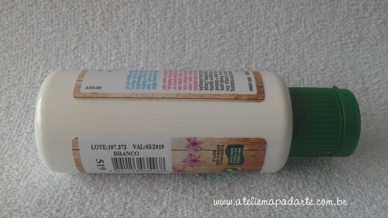 Foto2 - Cód M1405 Tinta acrílica fosca branca nature colors 60 ml (519)