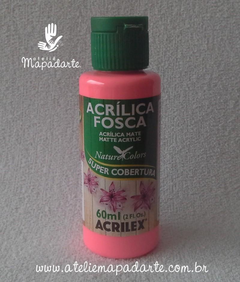 Foto 1 - Cód M1412 Tinta acrílica fosca pink nature colors 60 ml (527)