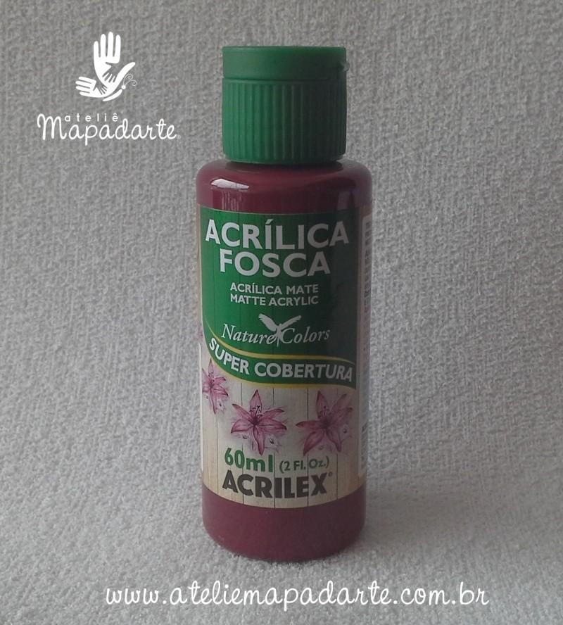 Foto 1 - Cód M1417 Tinta acrílica fosca arándano nature colors 60 ml (914)