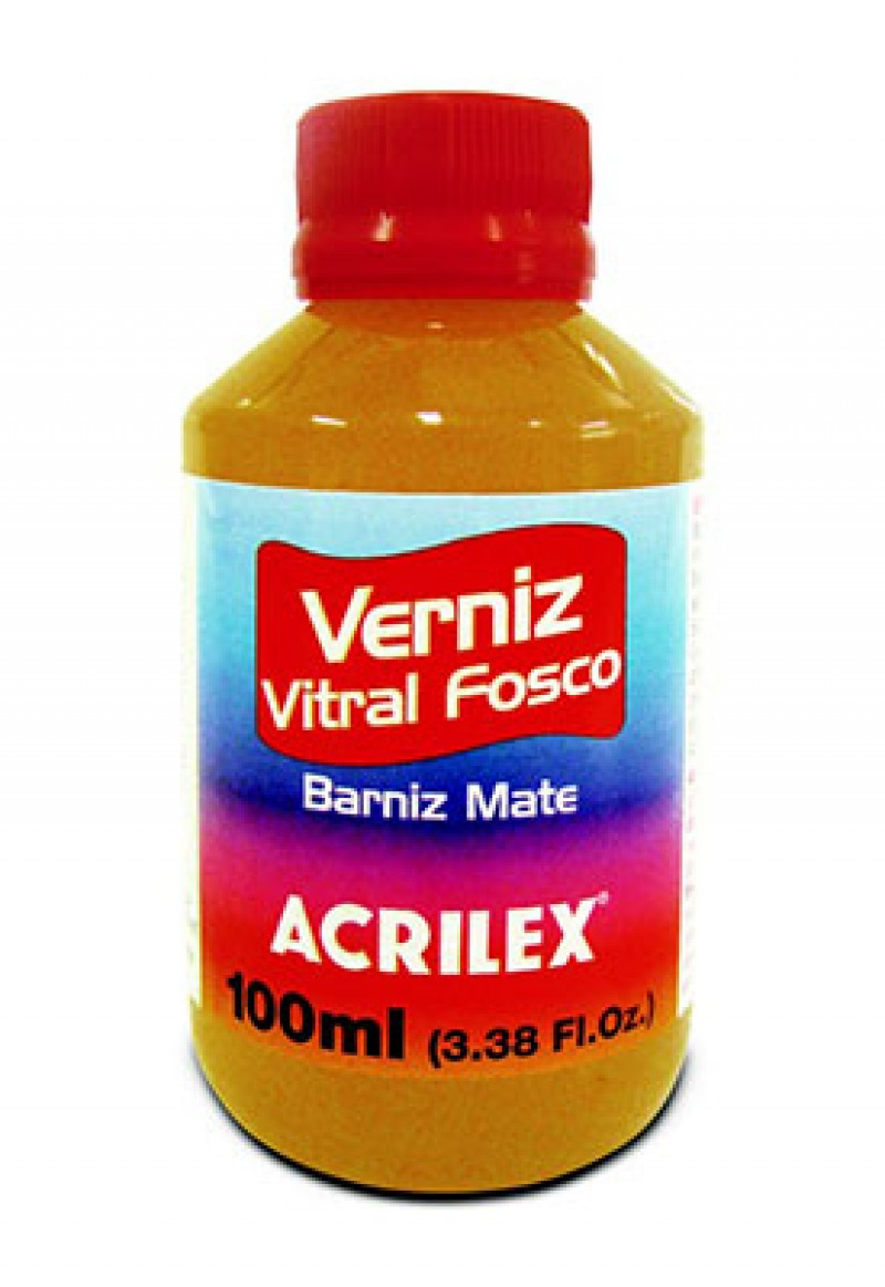 Foto 1 - Cód M1537 Verniz vitral fosco (Incolor) 100 ml