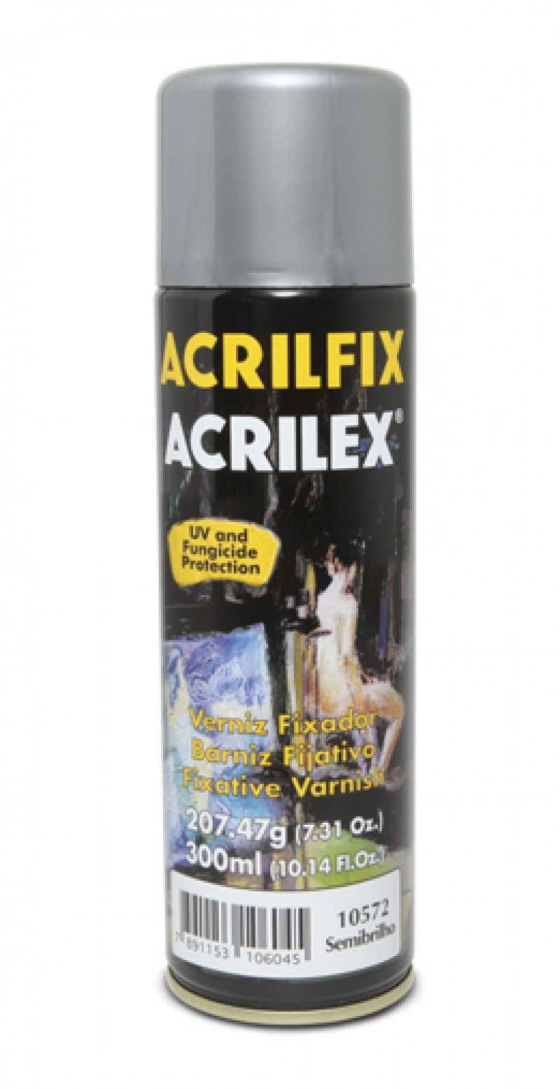 Foto 1 - Cód M1539 Verniz acrilfix acrilex spray fosco (Mate) 300ml