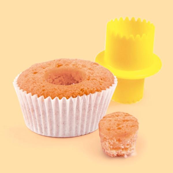 Foto 1 - Cód M1580 Cortador para rechear cupcake 01 un Blue Star