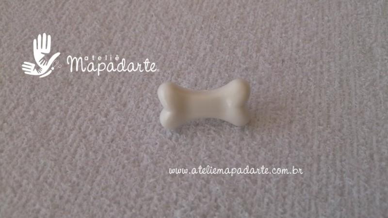 Foto 1 - Cód M1606 Botão osso com 10 un