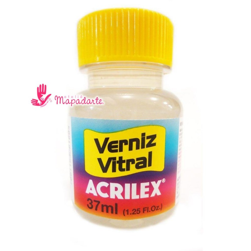 Foto 1 - Cód M1626 Verniz vitral incolor 37 ml Acrilex