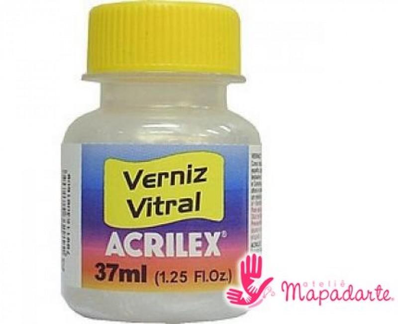 Foto 1 - Cód M1628 Verniz vitral madrepérola 37 ml Acrilex