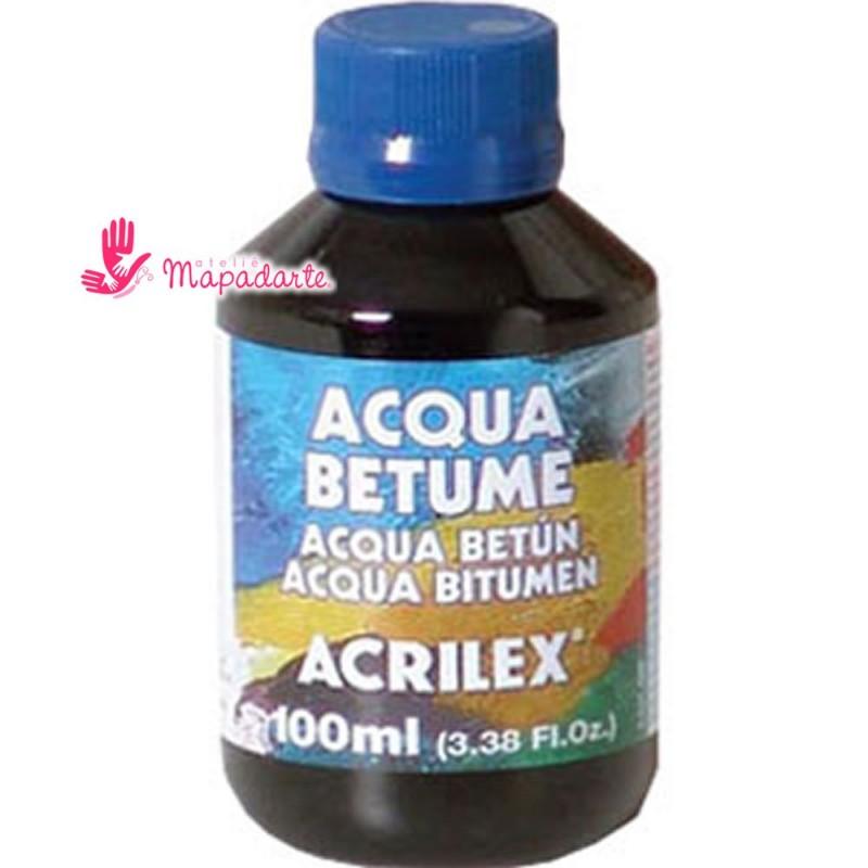 Foto2 - Cód M1632 Acqua betume 100 ml Acrilex