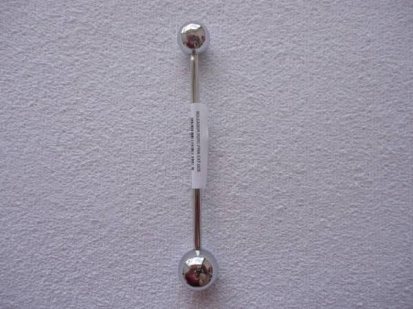 Foto 1 - Cód M165 Boleador de metal 1 un extra grande (FQ)