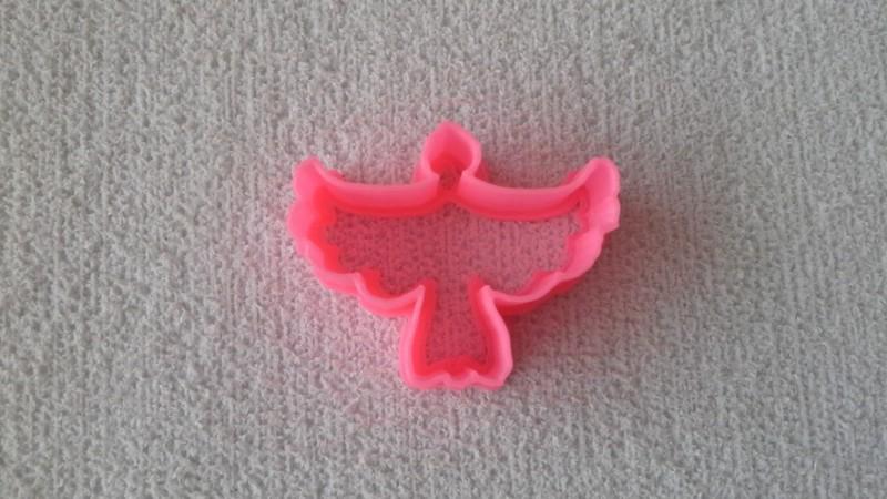 Foto 1 - Cód M1682 cortador pombinha M (plástico PLA)