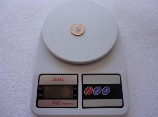 Foto 1 - Cód M176 Balança digital 10 kg