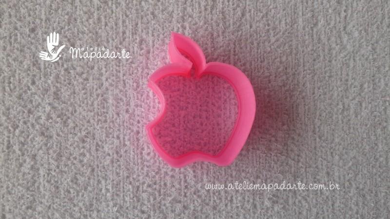 Foto 1 - Cód M1851 Cortador de maçã mordida em plástico PLA ref. 005-2 01 un (AC)