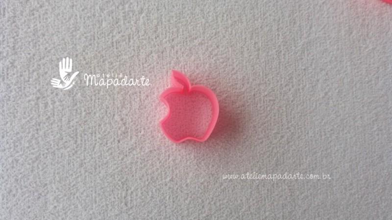Foto2 - Cód M1851 Cortador de maçã mordida em plástico PLA ref. 005-2 01 un (AC)