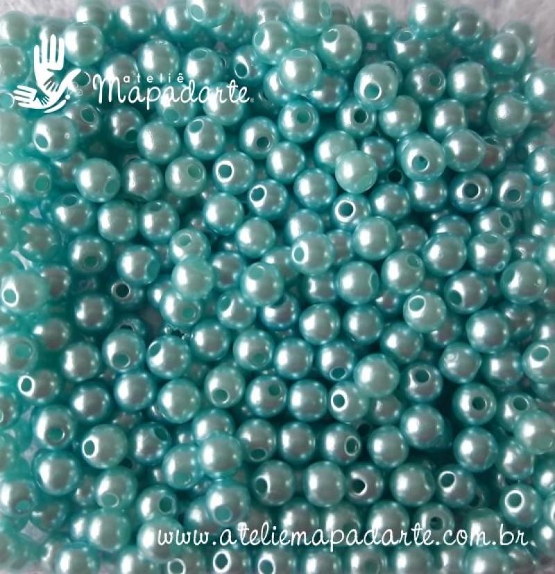 Foto 1 - Cód M1871 Pérola azul claro 4mm 10gr