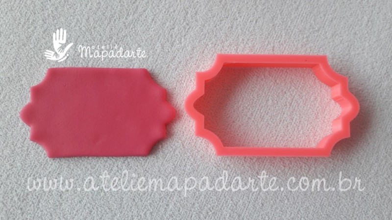 Foto 1 - Cód M1942 Cortador tag em PLA 01 un (AC)