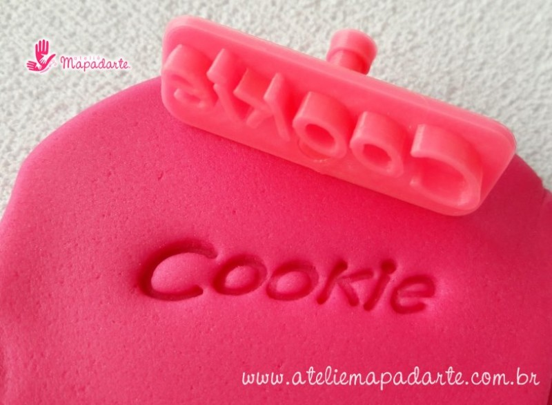 Foto 1 - Cód M1997 Carimbo cookie em plástico PLA 01un (AC)