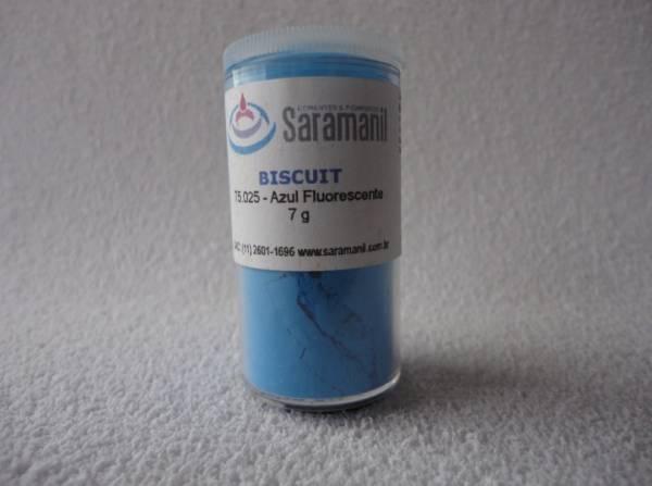 Foto 1 - Cód M209 Corante Azul fluorescente