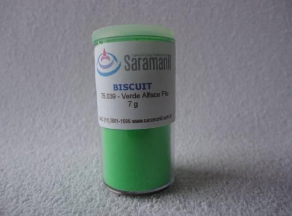 Foto 1 - Cód M215 Corante verde alface fluorescente