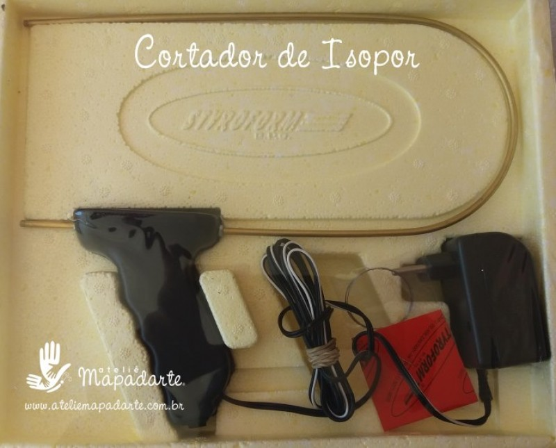 Foto 1 - Cód M2220 Cortador de isopor manual (bivolt 127/220)