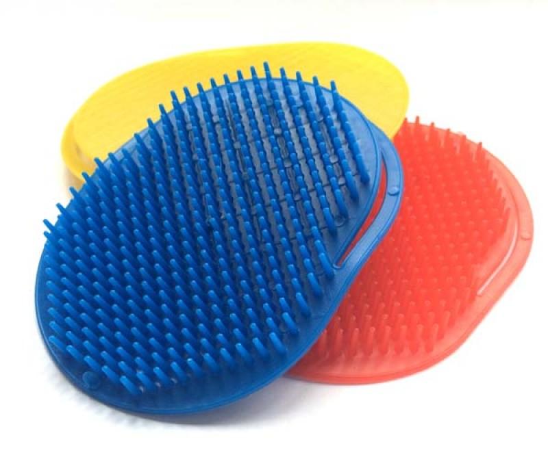 Foto 1 - Cód M2367 Escova para cabelo em plástico 01 un