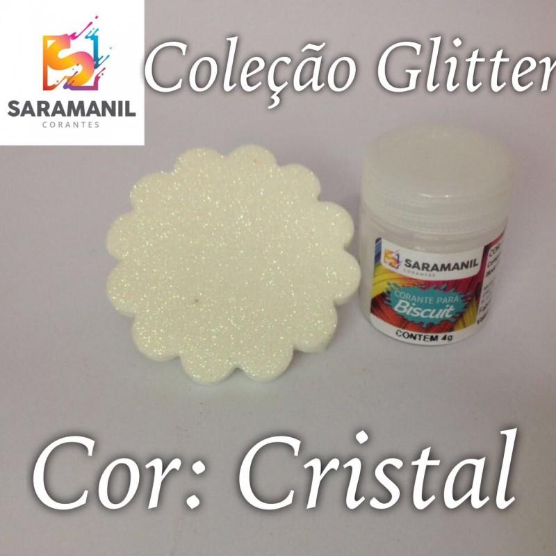Foto 1 - Cod M2477 Corante Saramanil Glitter cristal 4g