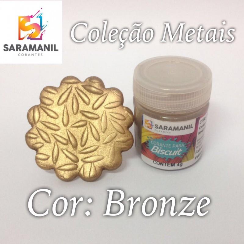Foto 1 - Cod M2483 Corante Saramanil Metais bronze 4g