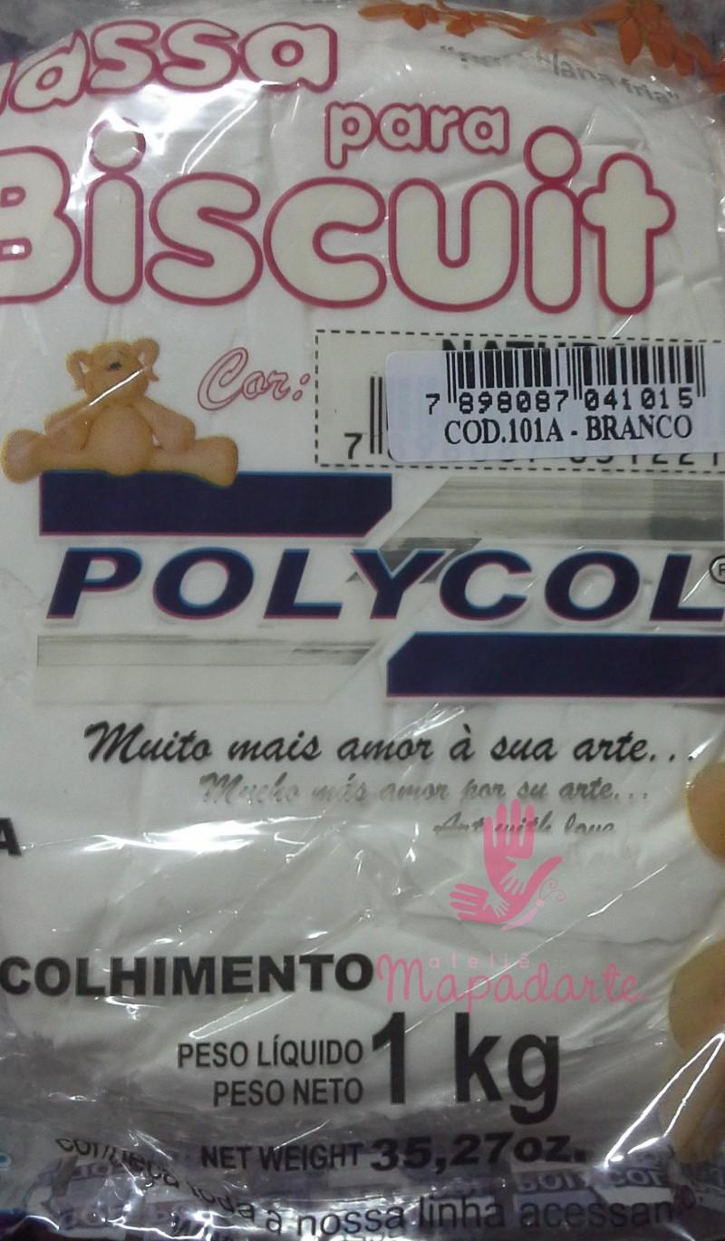 Foto 1 - Cód M2501 massa polycol branca de 1kg
