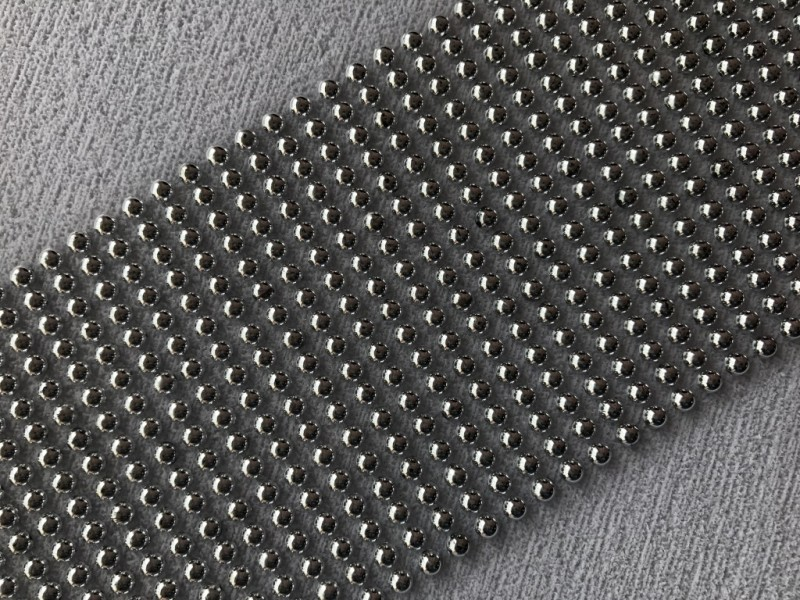 Foto 1 - Cód M2630 Cartela adesiva de meia pérola prata 5mm 01 cartela