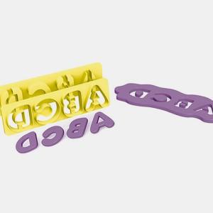 Foto2 - Cód M3000 Cortador de letras com extrator 2 cm bluestar