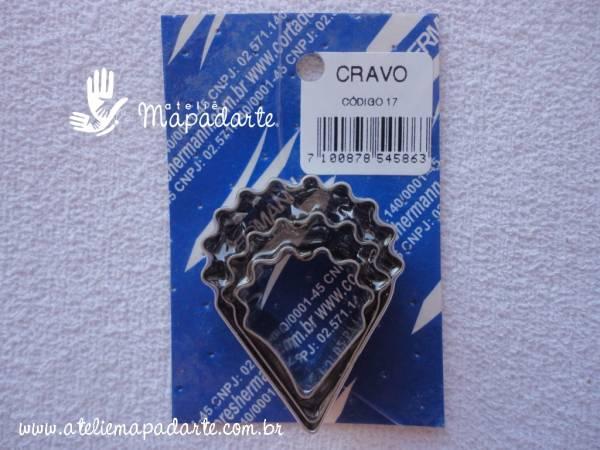 Foto 1 - Cód M348 Cortador inox de cravo 03 un (17) (H)