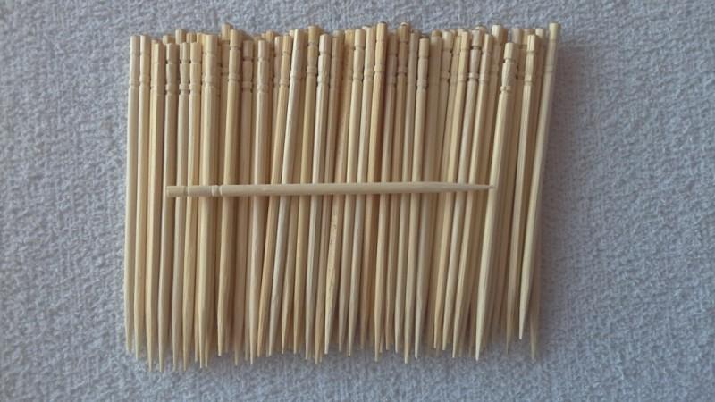 Foto3 - Cód M1158 Palito de bambú ( para coktail ) 100 un