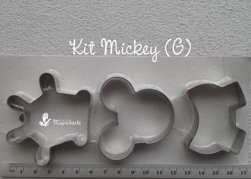 Foto 1 - Cód M476 Cortador inox de mickey 03 un (G) (CR)