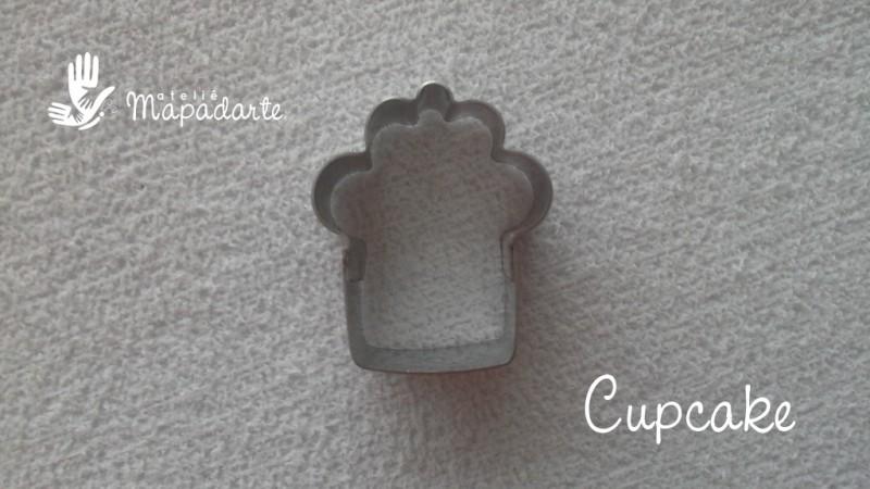 Foto 1 - Cód M477 Cortador inox cupcake P