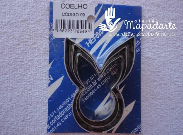 Foto 1 - Cód M481 Cortador inox de coelho c/03 un (H)