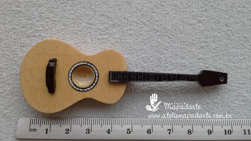 Foto 1 - Cód M510 Miniatura violão 01 un