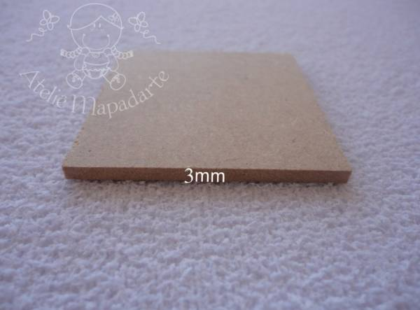 Foto2 - Cód M554 Base MDF quadrada 5x5 cm