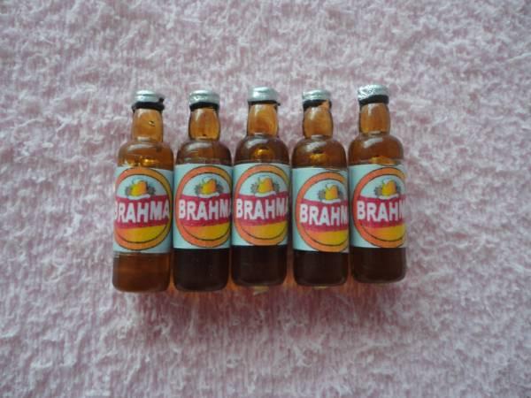 Foto 1 - Cód M626 Miniatura Bhama garrafa c/ 5 un